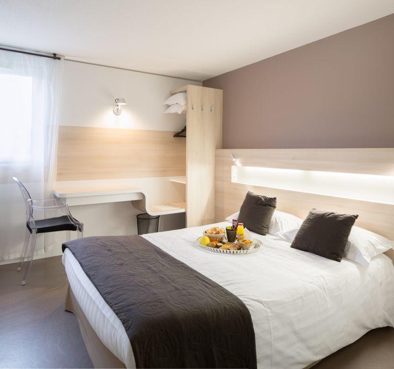 Hotel Eskemm_Saint-Brieuc_Chambre