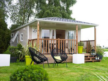 Campinglesblésd'or-St-Cast - Location de mobil-home