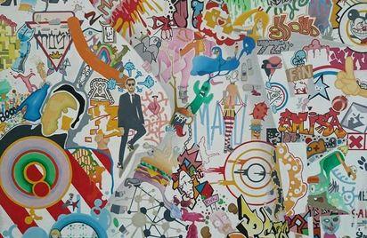 Exposition - Un univers pop street art - Emmanuel Pajot