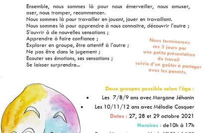 Stage découverte Théatre