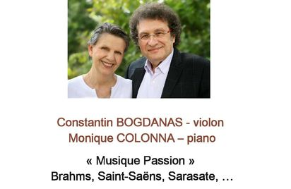 Musique Passion - Récital violon / piano à Lanloup