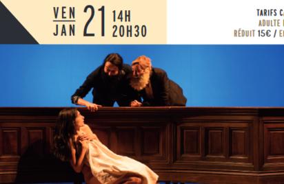 Artemisia Gentileschi - Groupe Vertigo - Théâtre
