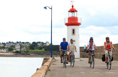 Escapades vélo guidées autour de la Baie de Saint-Brieuc