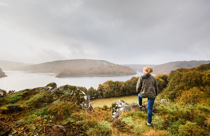 Balade autour du plus grand lac de Bretagne