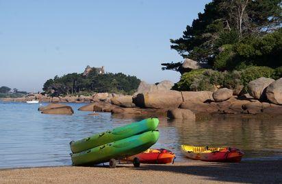 Locations Kayaks paddle Ploumanac'h