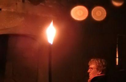 Visite de l'Ancien couvent des Carmes aux flambeaux
