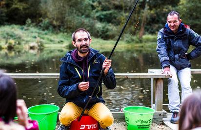 Devenez un pêcheur d'eau douce à la Maison Pêche et Nature