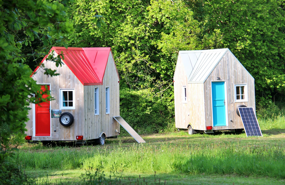 Tiny-Houses au Château