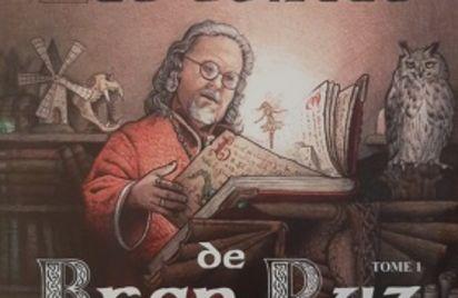 Dédicace par le mage Bran Ruz