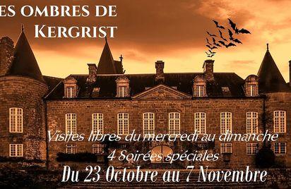 Halloween et les ombres - Saurez-vous retrouver la sortie du Château de Kergrist