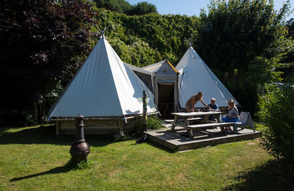 Tente Tipi - Camping Le Châtelet