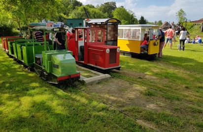 Tramway de Boutdeville : Balades en petit train