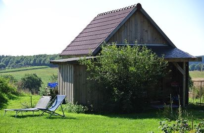 Cabane de la ferme Mellon