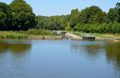 Echelle d'écluses - Canal de Nantes à Brest