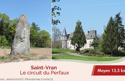Le circuit du Perfaux à Saint-Vran