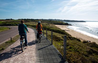 Escapades vélo guidées sur la Côte d'Emeraude