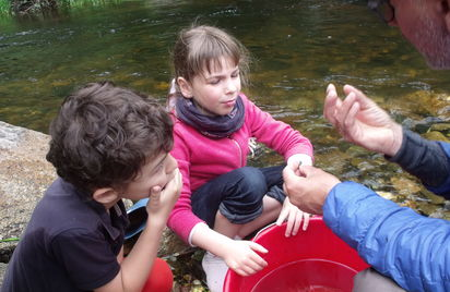 De la rivière à la pêche