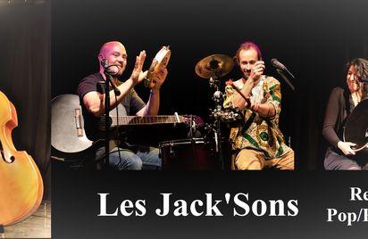 Les Jack'Sons en concert