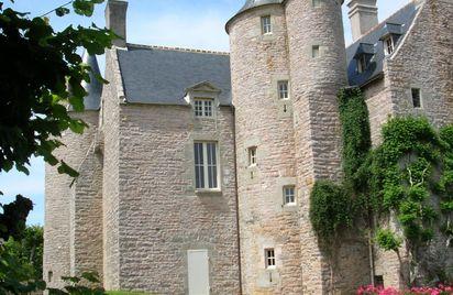 Jardin du château de Bienassis