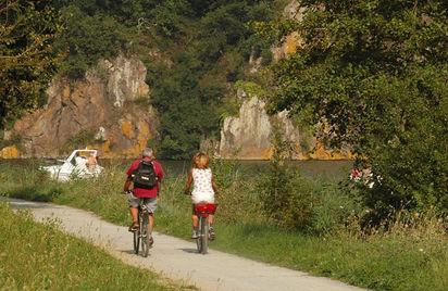 Une journée à vélo sur la V2 de Dinan à l'étang de Bétineuc (Évran)