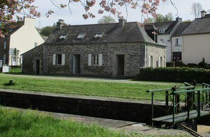 Maison éclusière de Gouarec - Rando Gîte