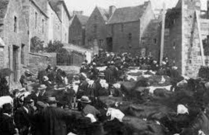 Marché de Saint Michel en Grève