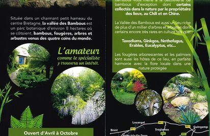 Visite guidée du parc botanique La vallée des bambous