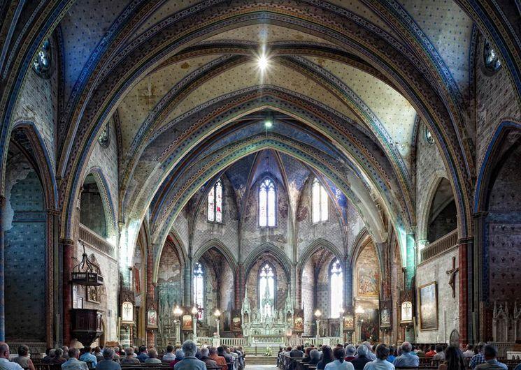 Mirepoix, l'église