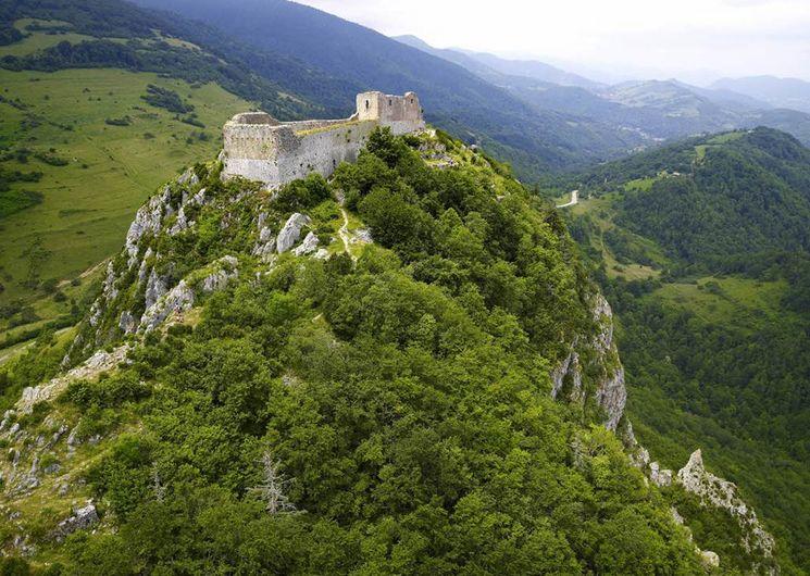 Montségur, château cathare