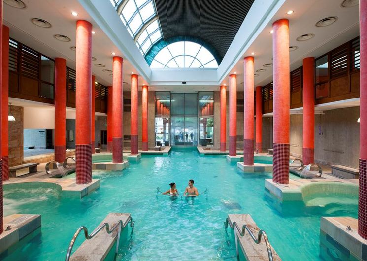 Bains du Couloubret Ax les Thermes - Bassin int