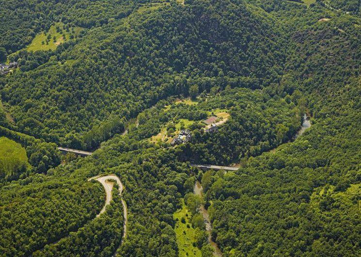 Les gorges de l'Aveyron autour de Najac