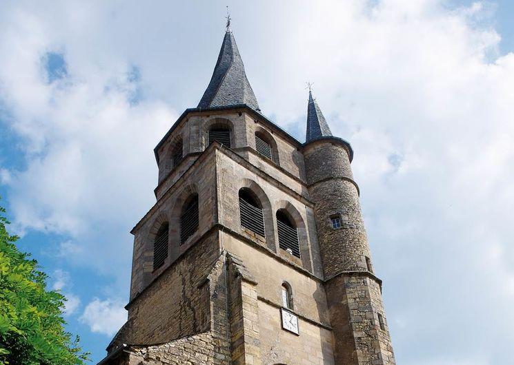Une forme de clocher très rare en France