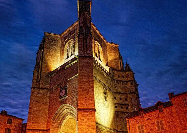 Villefranche-de-Rouergue, la collégiale Notre-Dame