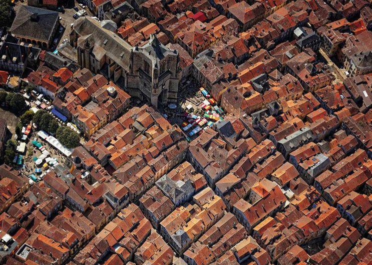 Villefranche-de-Rouergue, bastide fondée en 1252