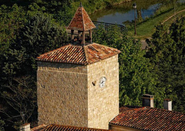 La tour à l'horloge