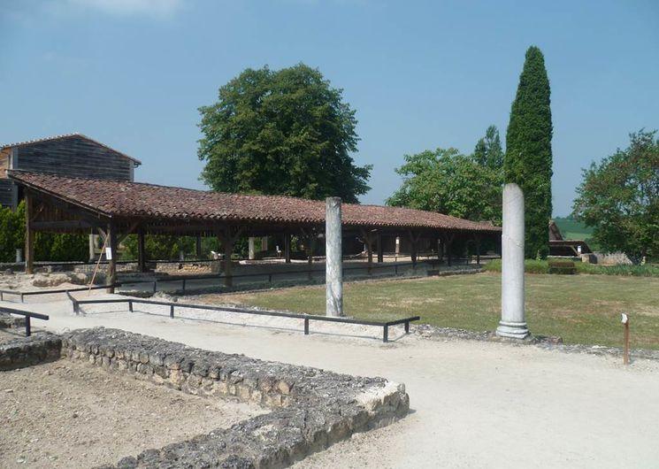 A proximité : le site de la villa romaine de Séviac