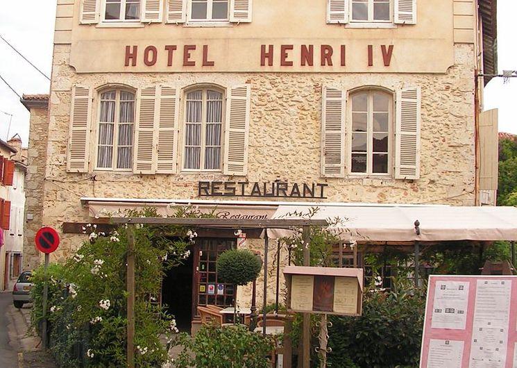 HOTEL RESTAURANT HENRI IV