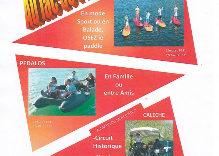 Affiche activité - L'Isle-Jourdain
