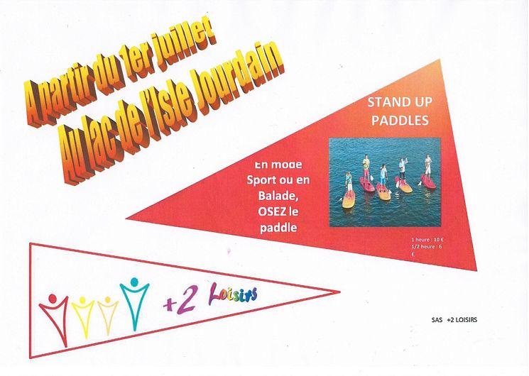 Paddle - L'Isle-Jourdain