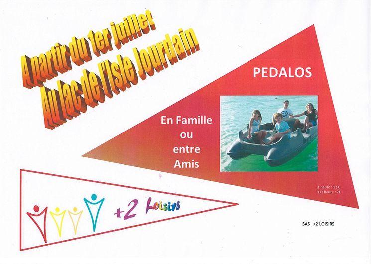 Pédalo - L'Isle-Jourdain