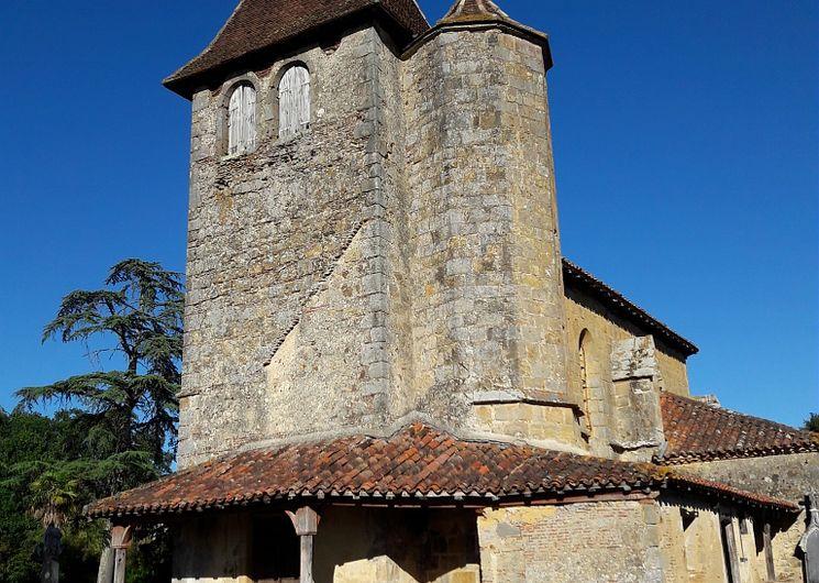 Eglise Saint Luperc de Loissan
