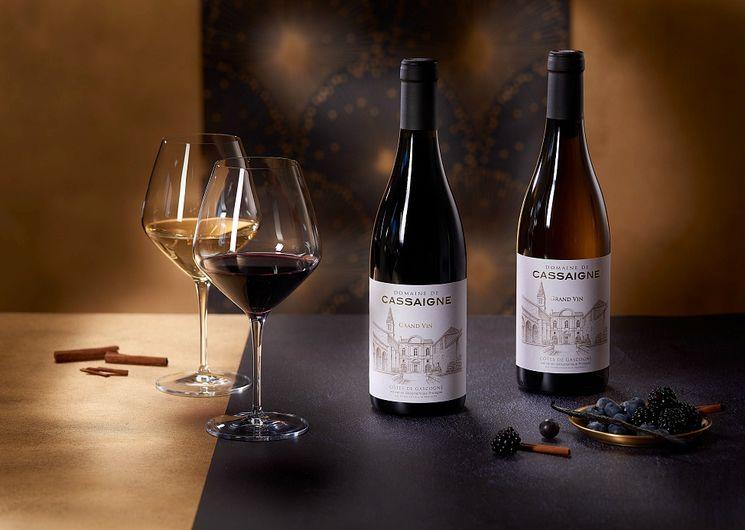 Cuvée et vin du Château de Cassaigne