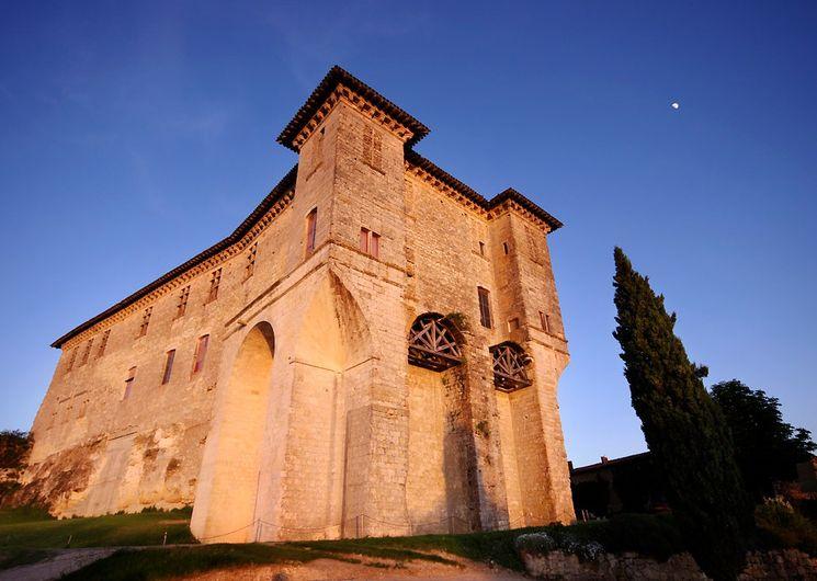 Château de Lavardens de nuit