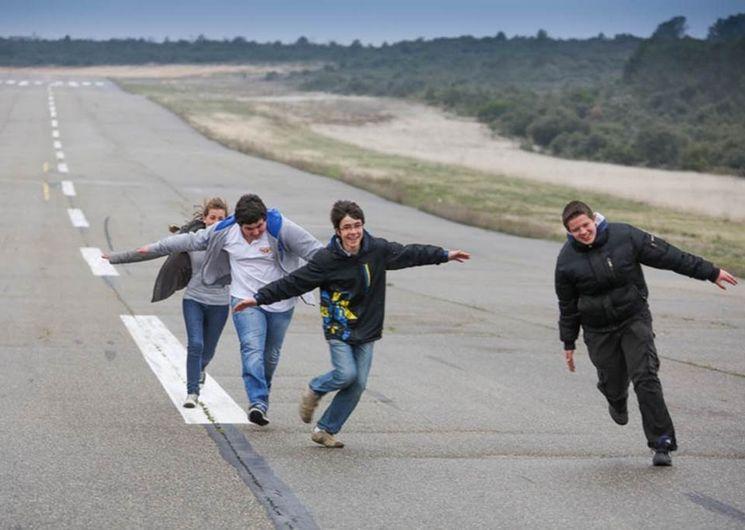 Aéroclub d'Alès et des Cévennes - la piste - Deaux