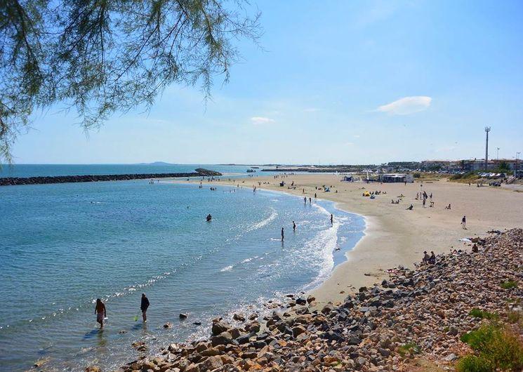 Sète - La plage