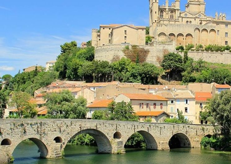 Circuit à vélo de Carcassonne à la Méditerranée
