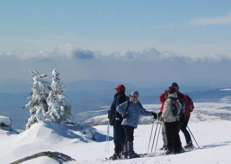Week-end neige en Lozère - Randonnées en raquette