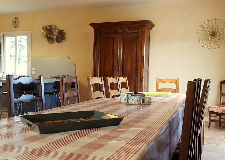 salle à manger domaine de Bancals