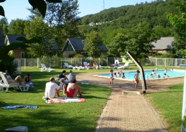 Piscine - Grand Vabre Nature Village de Gîtes