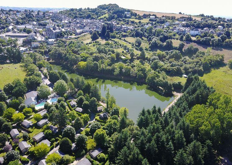 Le village de Rieupeyroux
